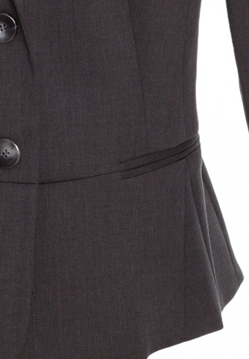 Blazer Choicy in Schwarz, anthrazit