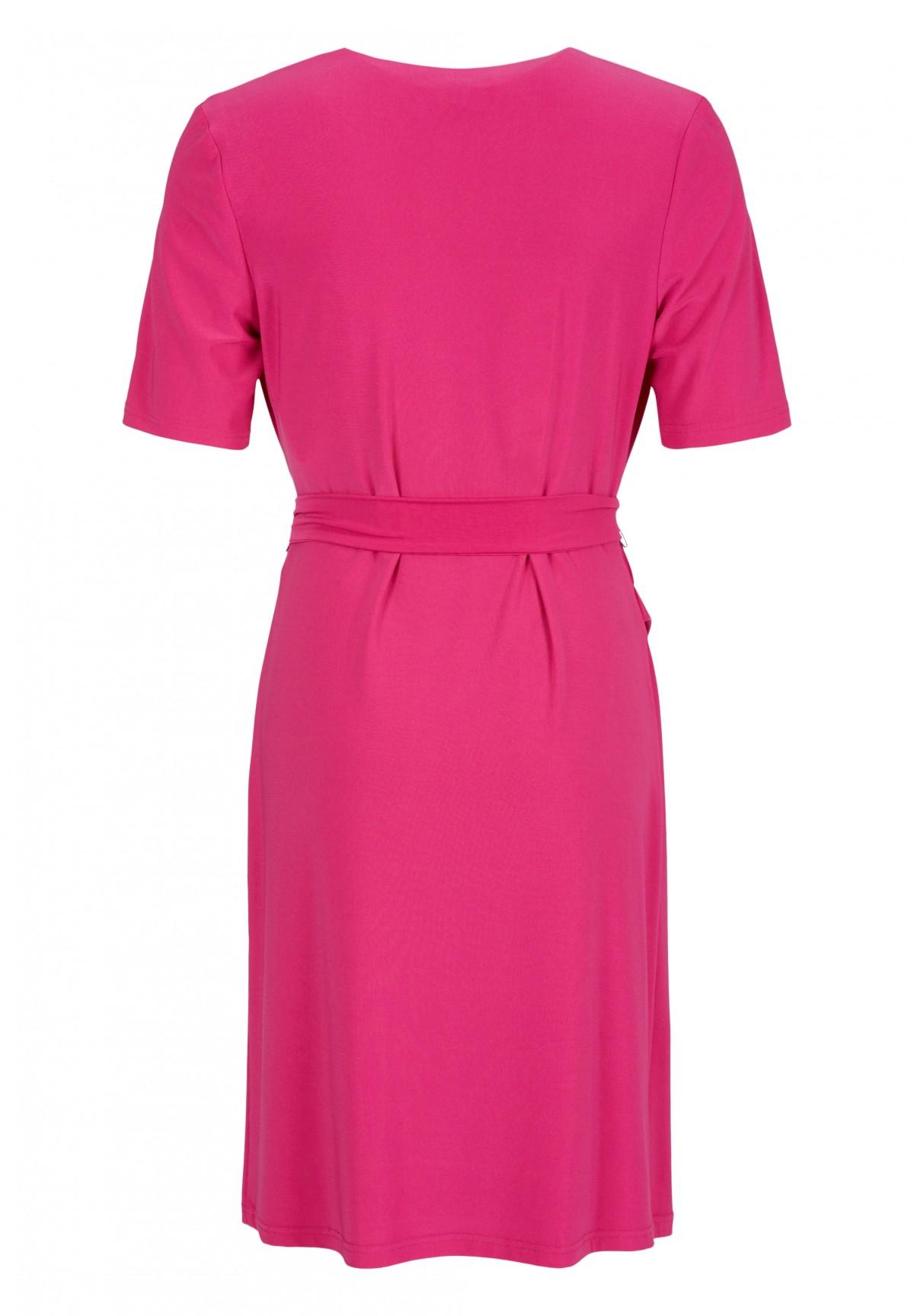 Feminines Kleid in Wickel-Optik / Feminines Kleid in Wickel-Optik