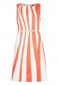 Kleid im Wellen-Design