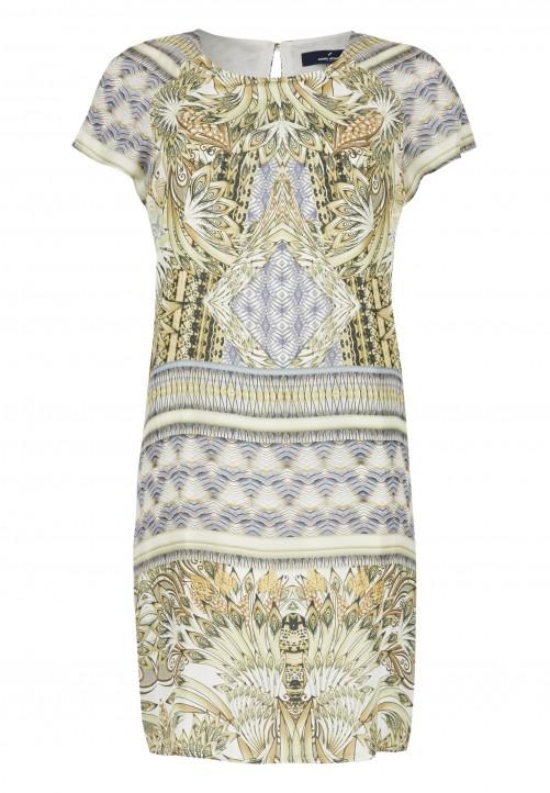 Kleid, olivgrUEn