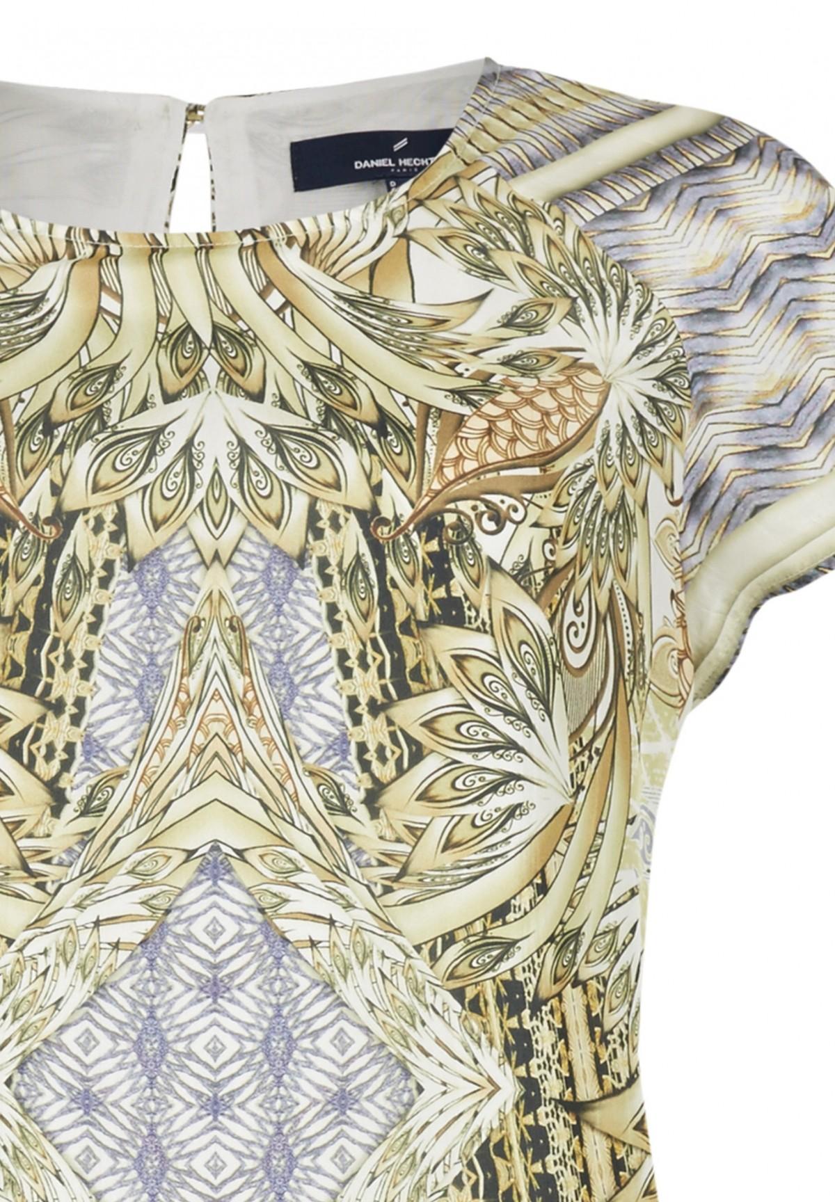 Trendiges Kleid aus reiner Seide / Kleid