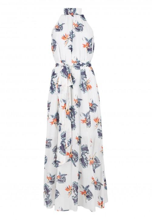 DANIEL HECHTER Kleid mit floralem Muster in Orange online