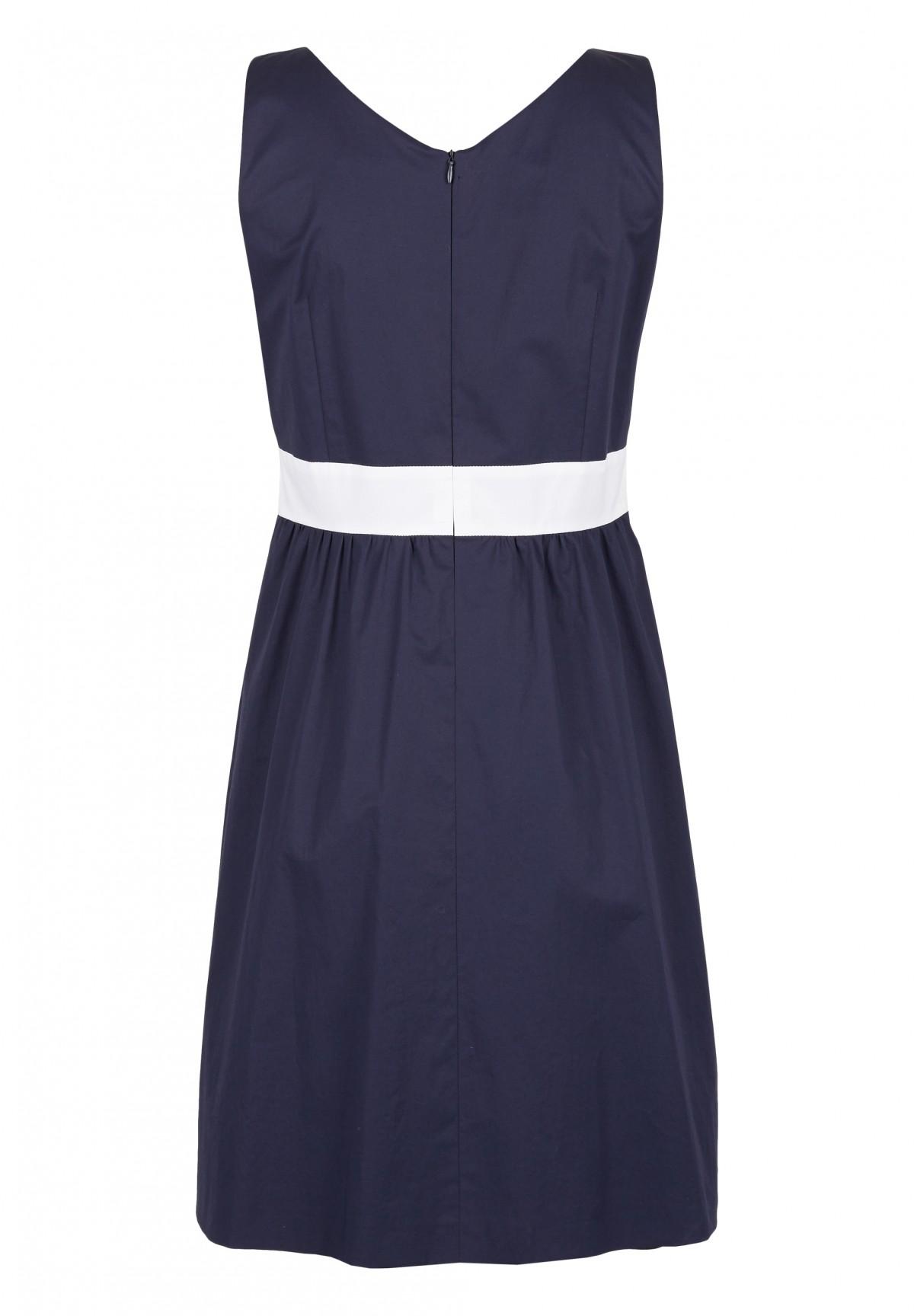 Kleid aus Baumwollsatin / Kleid