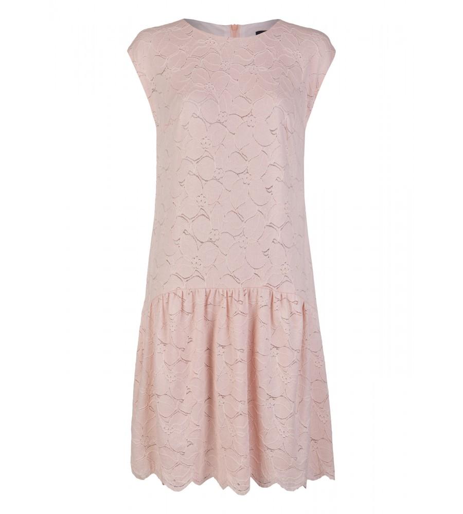Trendiges Kleid mit geradem Schnitt