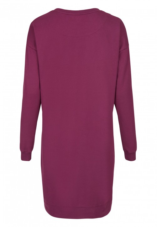 Sweat Dress, purple