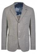 veste cintrée demi-doublée 3 boutons