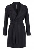 Mantel mit Oversize-Kragen