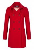 Manteau à double-boutonnage