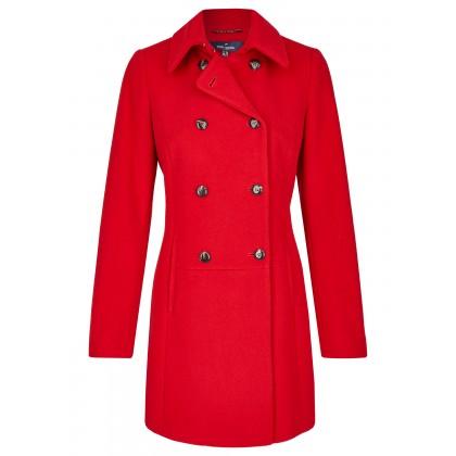 Roter mantel h&m