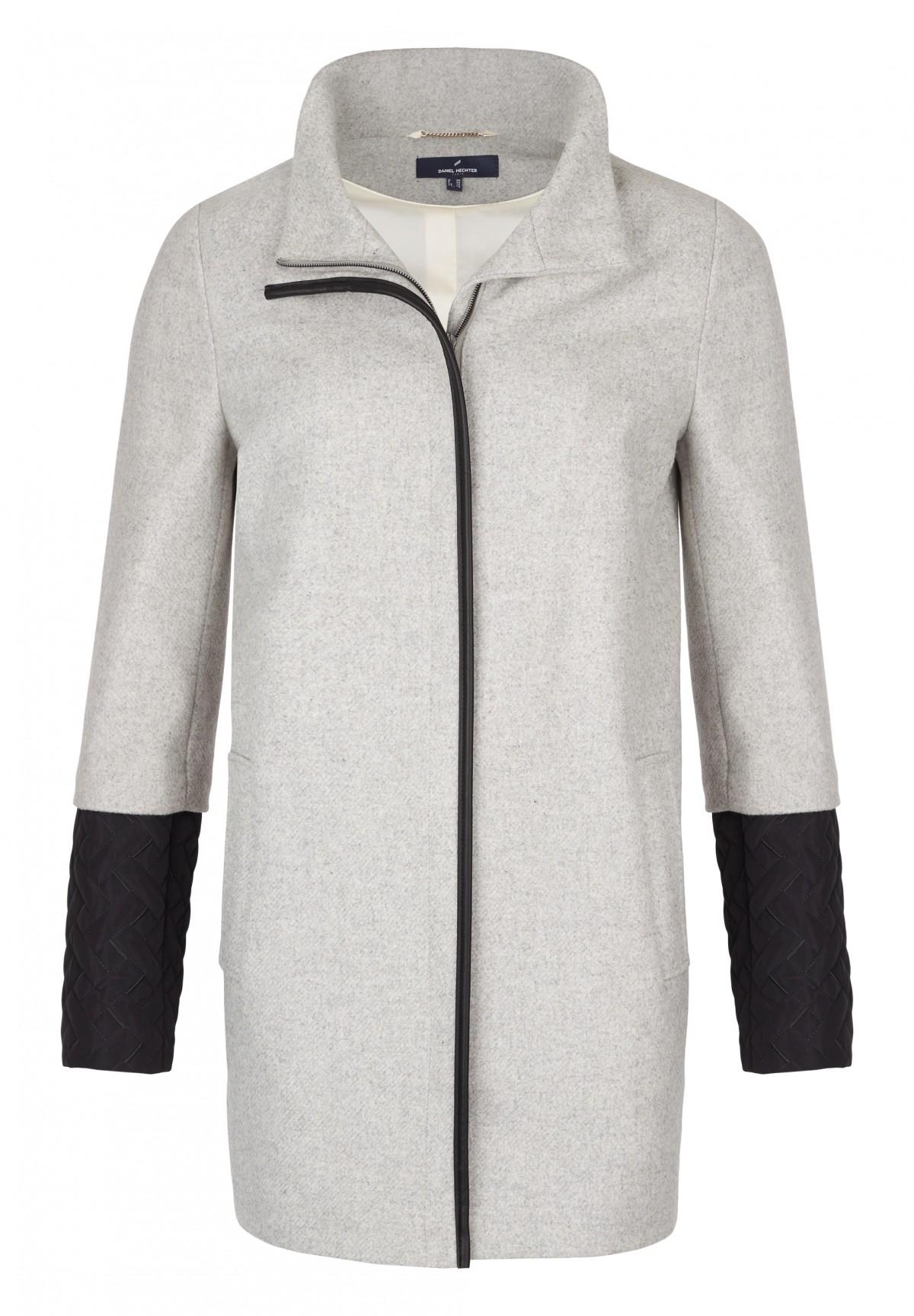 Manteau col montant /