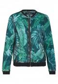 Trendige Jacke mit Palmenprint