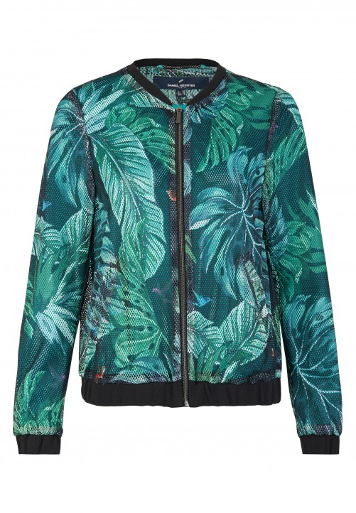 Jacket, dark mint
