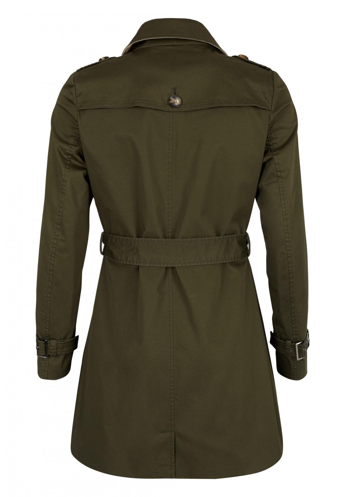 Trenchcoat mit modischen Details / Trenchcoat