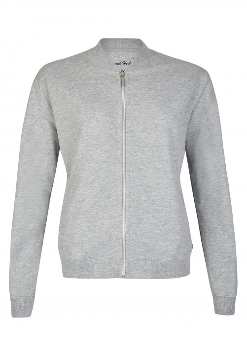 Sweat Blouson, light grey