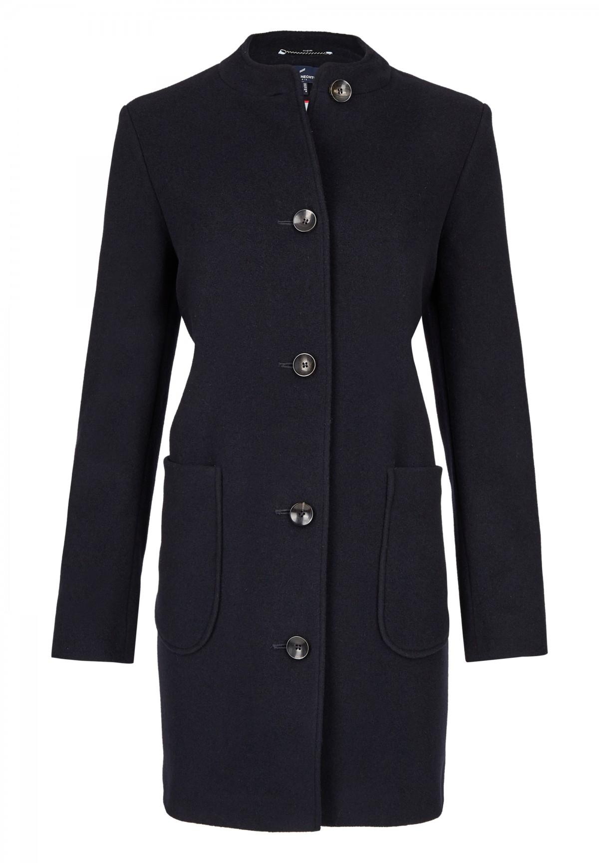 Manteau col rond /