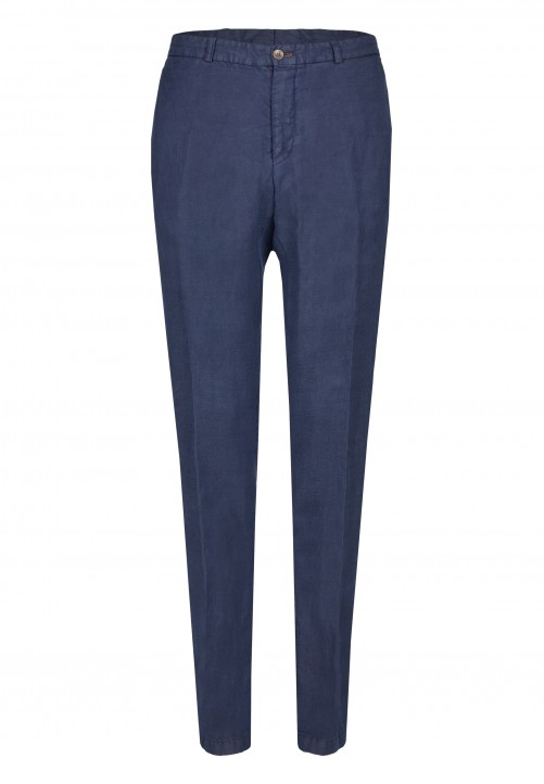 TROUSER SHAPE TWIST, navy
