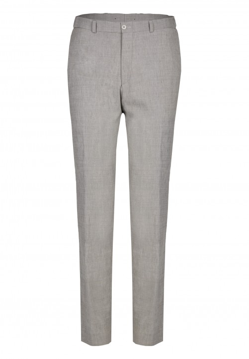 TROUSER SHAPE TWIST, lightgrey
