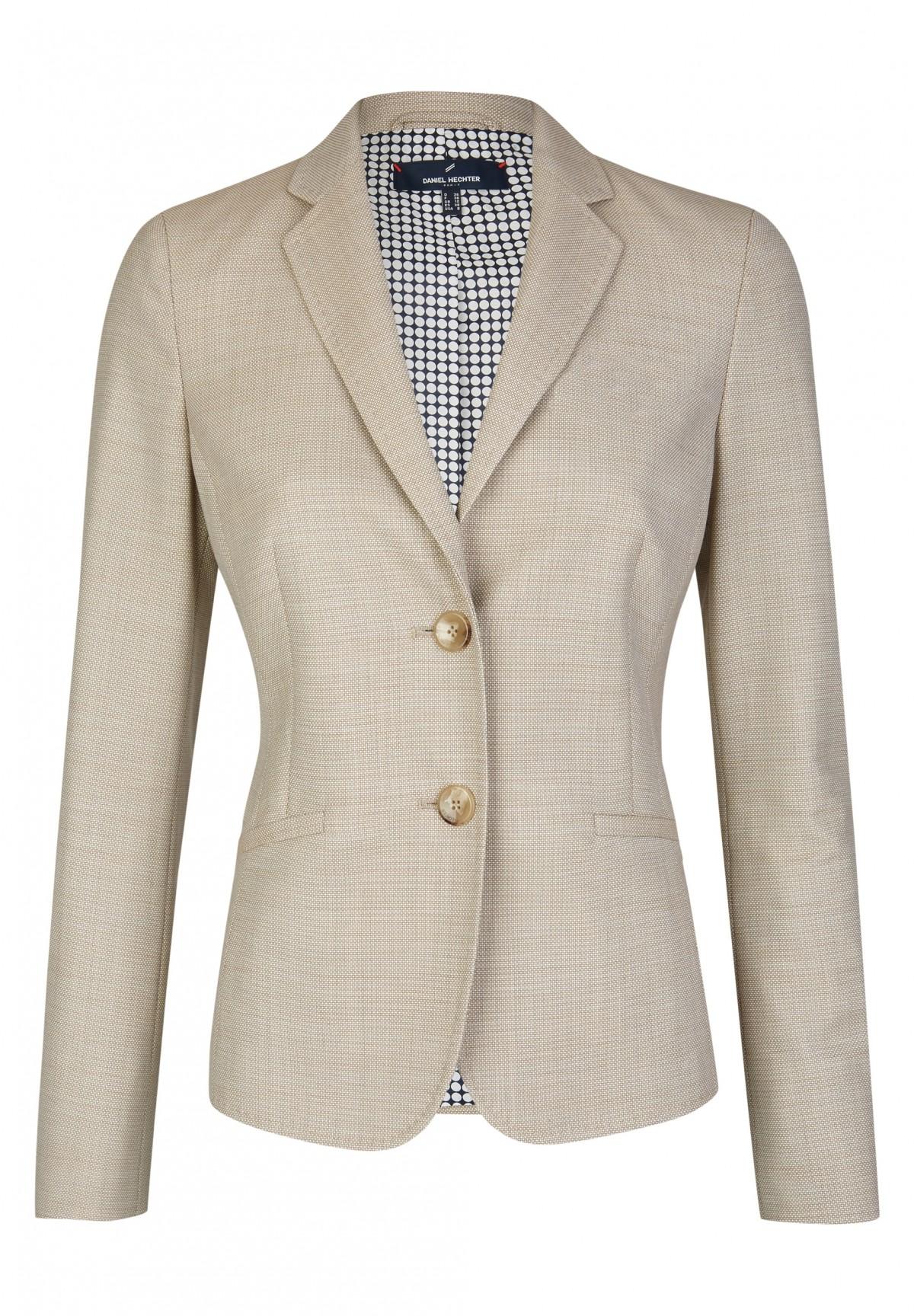 Klassischer Blazer / Eleganter Woll-Blazer