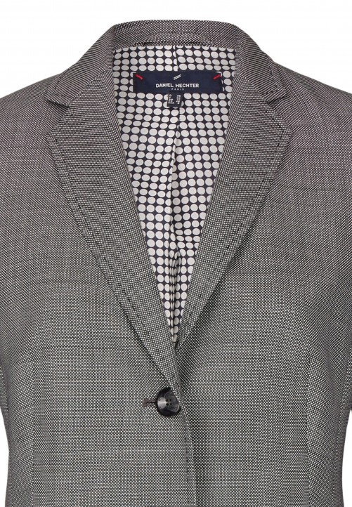 Eleganter Woll-Blazer, grey