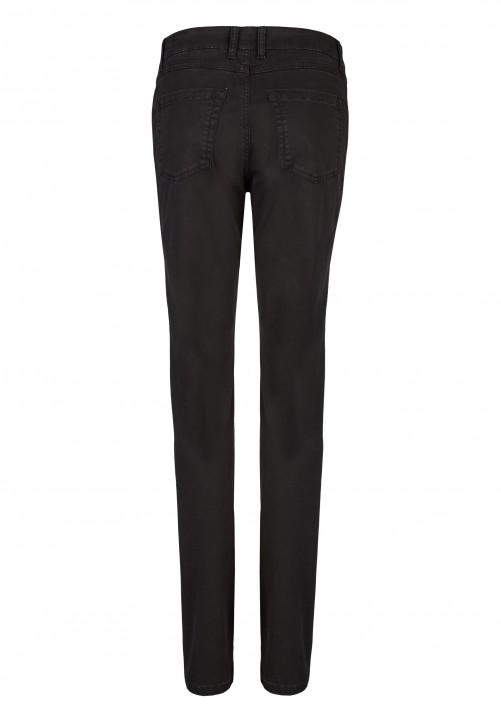 Modische Hose in schickem Design, schwarz