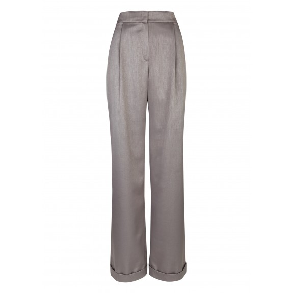 f4fbaf551ae3b5 Jupe culotte taille haute - Gris   Boutique en ligne Daniel Hechter