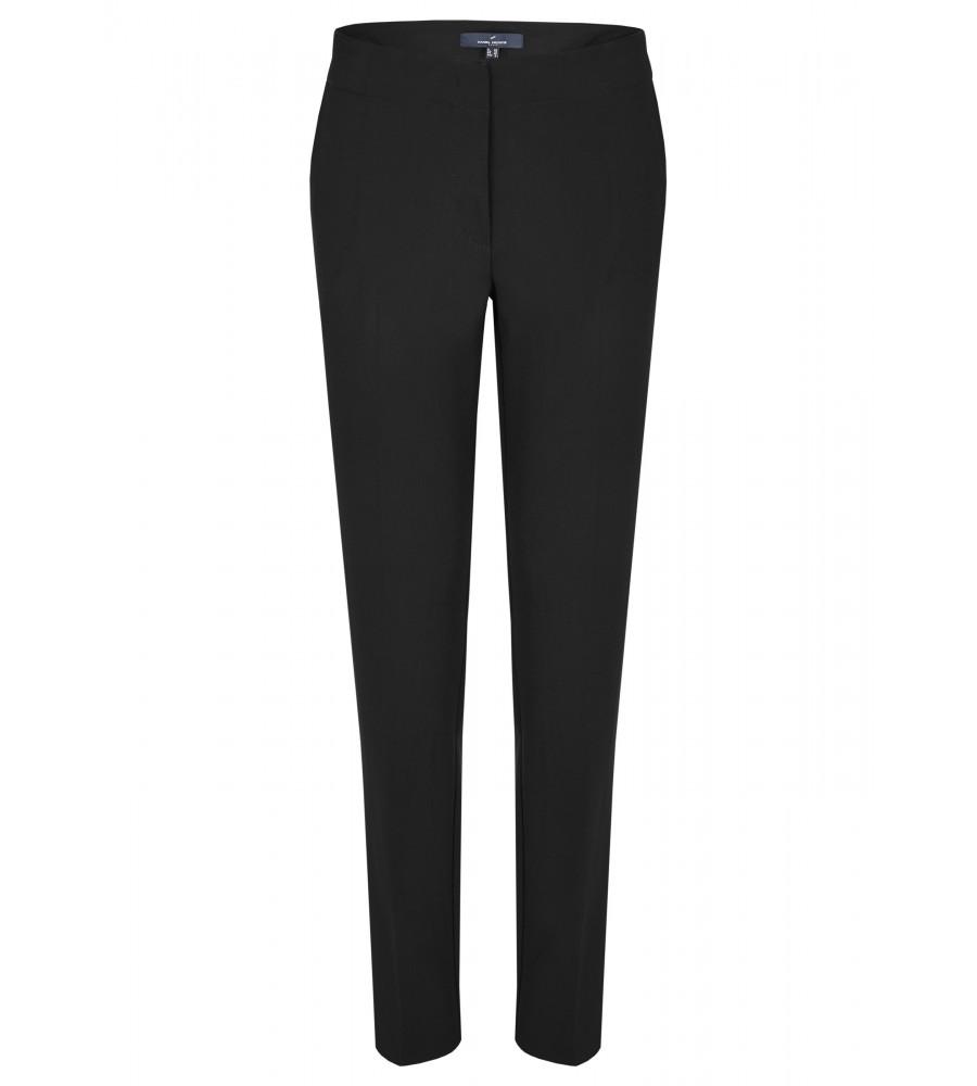Klassische Bundfaltenhose - Beweisen Sie Stilbewusstsein mit dieser klassischen Hose von Daniel Hechter. Sie ist elegant geschnitten und lässt sich mit einem Hakenverschluss schlie�en. Die Hose verfügt nicht über Gürtelschlaufen. Einschubtaschen hinten runden den Look ab. Der Stoff aus hochwertigem Viskose-Mix verspricht höchsten Tragekomfort, Langlebigkeit und Formstabilität.