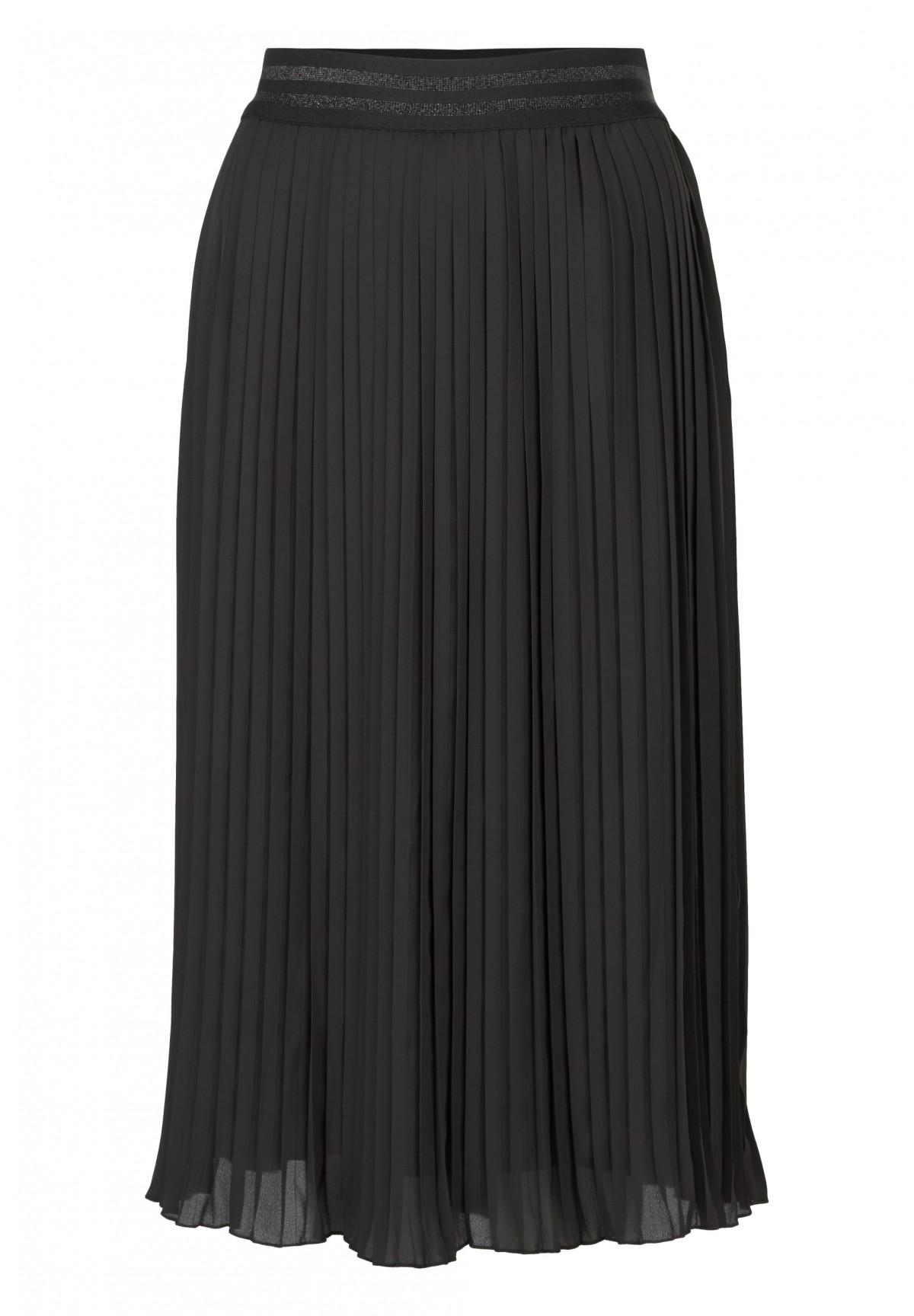 where can i buy cozy fresh shades of Jupe plissée longue, noir | Boutique en ligne Daniel Hechter