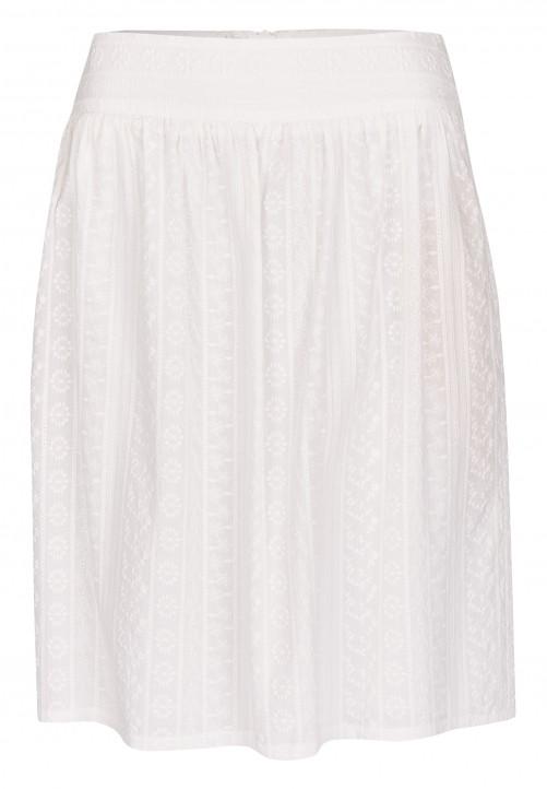 Skirt, white