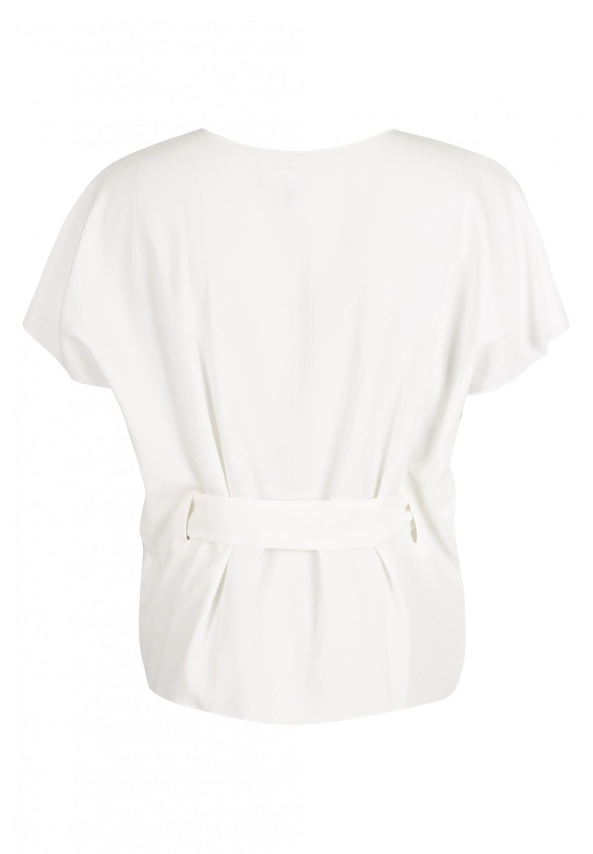 Shirt mit Gürtel / Bluse