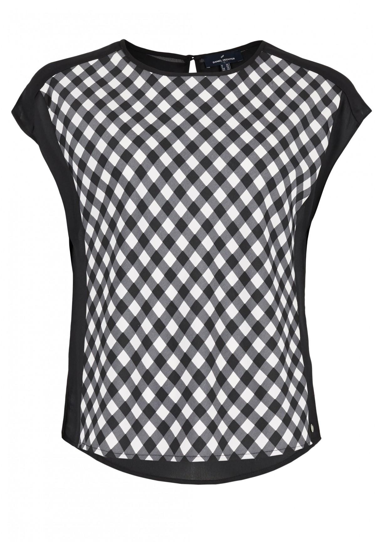 Bluse mit Karo-Muster / Shirt