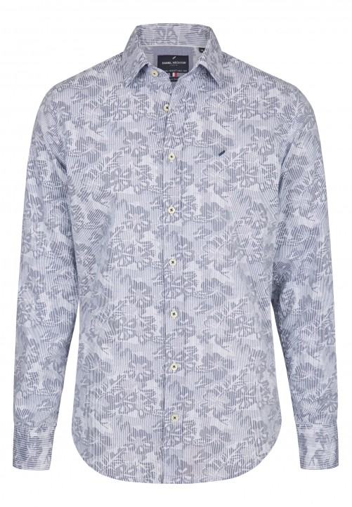 SHIRT MODERN FIT, blue