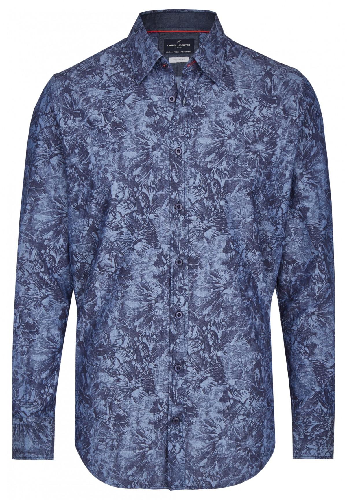 Freizeithemd mit floralem Muster / Freizeithemd mit floralem Muster