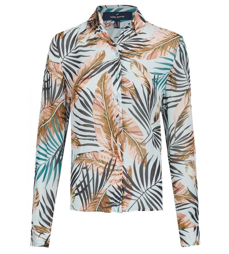 Elegante Bluse mit Zierleiste