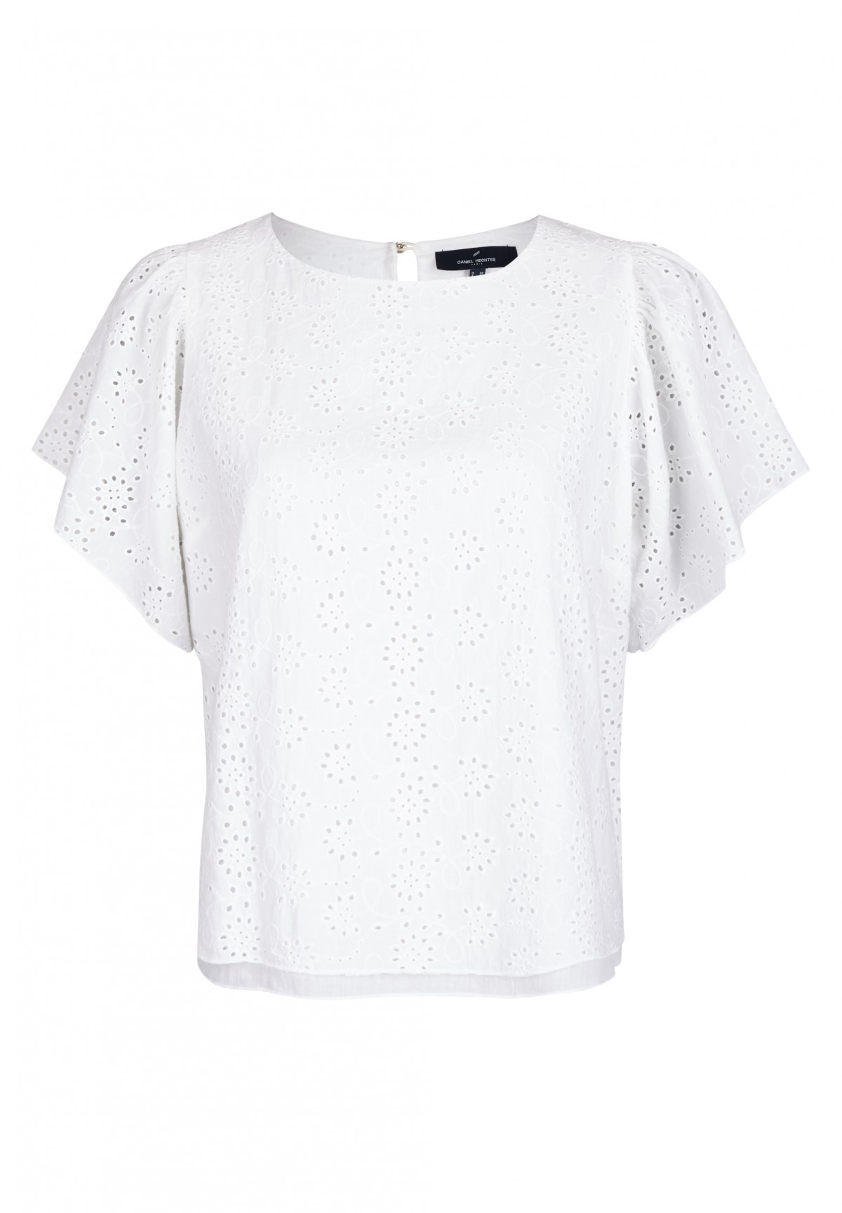 Top en broderies anglaise /