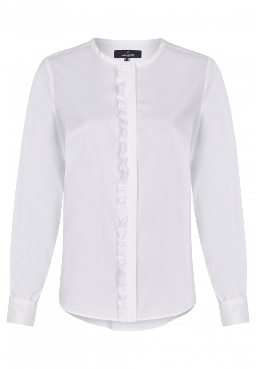 Modische Bluse, off-white