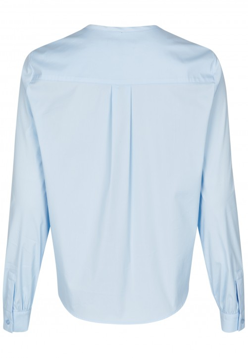 Modische Bluse, light blue