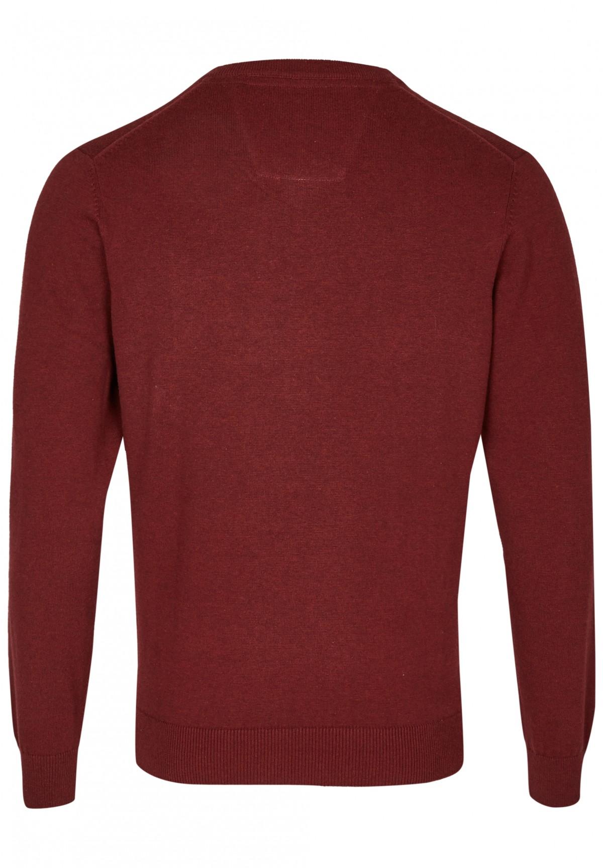 Essential-Pullover mit V-Ausschnitt / Essential-Pullover
