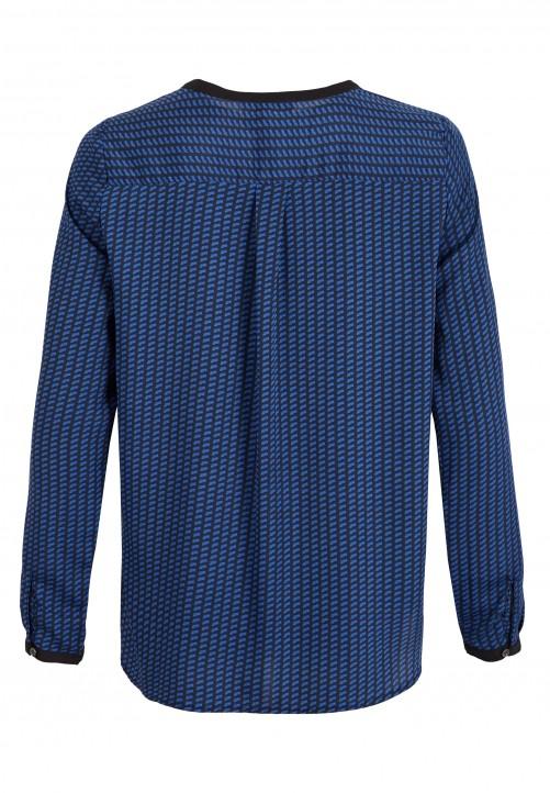 Bluse, nachtblau