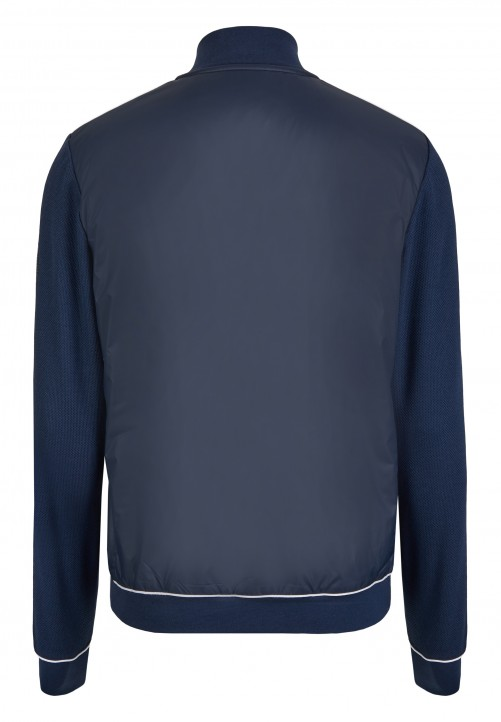 ZIPJACKET SWEATSHIRT, navy