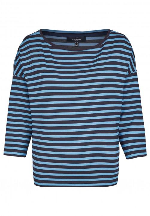 Klassisches Shirt, steel blue