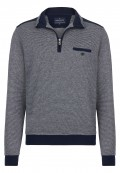 Sweatshirt confort à col zippé