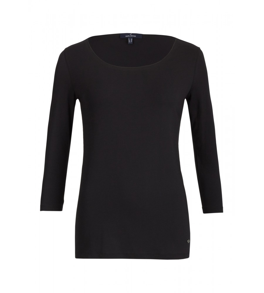 Shirt Claire - Ein praktisches Basicshirt für jede Garderobe. Die 3/4-Armlänge macht das Shirt zu einem guten Begleiter im Sommer wie im Winter. Durch den Elasthananteil sitzt es sehr angenehm auf der Haut.
