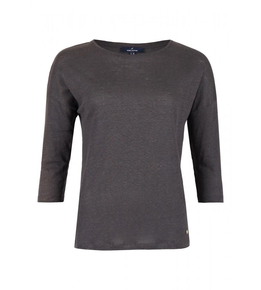 Basic-Shirt mit Rundhalsausschnitt - Dieses schlichte Shirt von Daniel Hechter ist das perfekte Sommer-Basic. Es besteht aus reinem Leinen, das für ein angenehmes Tragegefühl bei warmen Temperaturen sorgt. Modische Details wie der versetzte �rmelansatz runden den Look ab. Das Shirt ist durch sein cleanes Design unheimlich vielseitig kombinierbar.