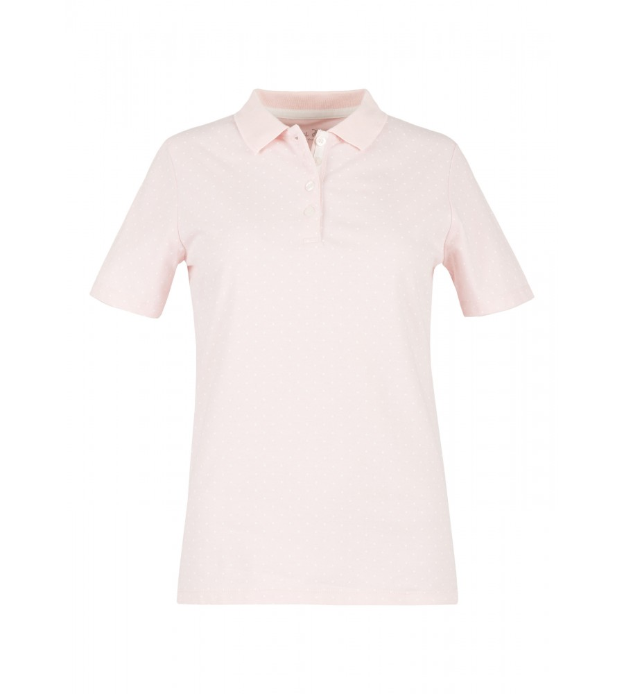 Unifarbenes Polo-Shirt