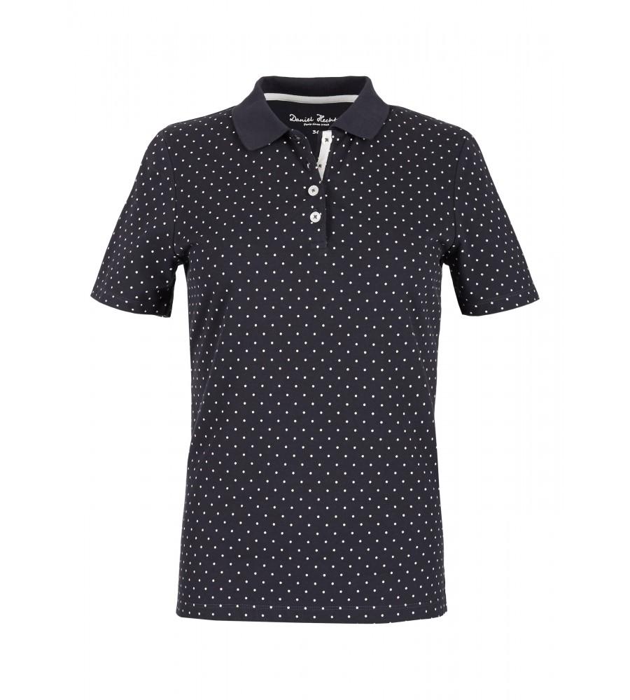 Unifarbenes Polo-Shirt - Mit diesem klassischen Polo-Shirt von Daniel Hechter ist Ihnen ein stilvoll-sportiver Auftritt sicher. Es besteht aus Baumwolle mit Stretch-Anteil, der für perfekten Tragekomfort sorgt. Das Shirt ist unifarben gestaltet, und wird modisch durch eine Stickerei auf der Brust abgerundet. Es ist sehr vielseitig kombinierbar und verfügt über eine Knopfleiste am Kragen.