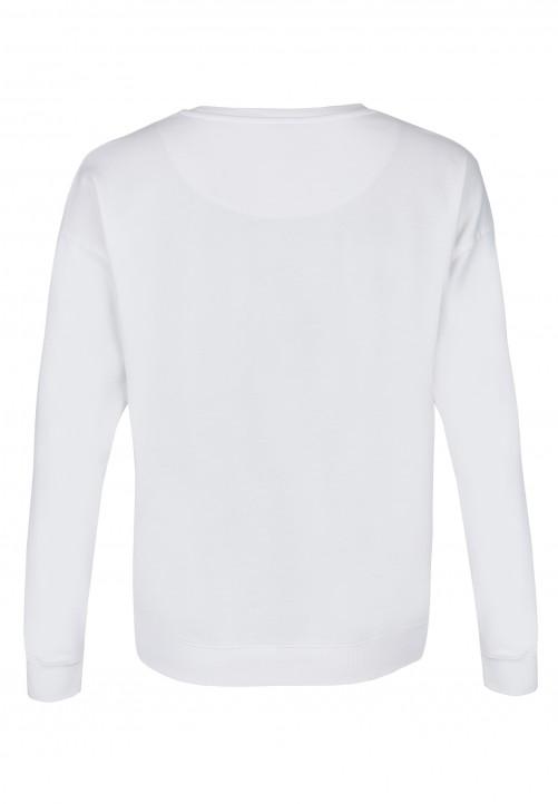 Sweatshirt, wei