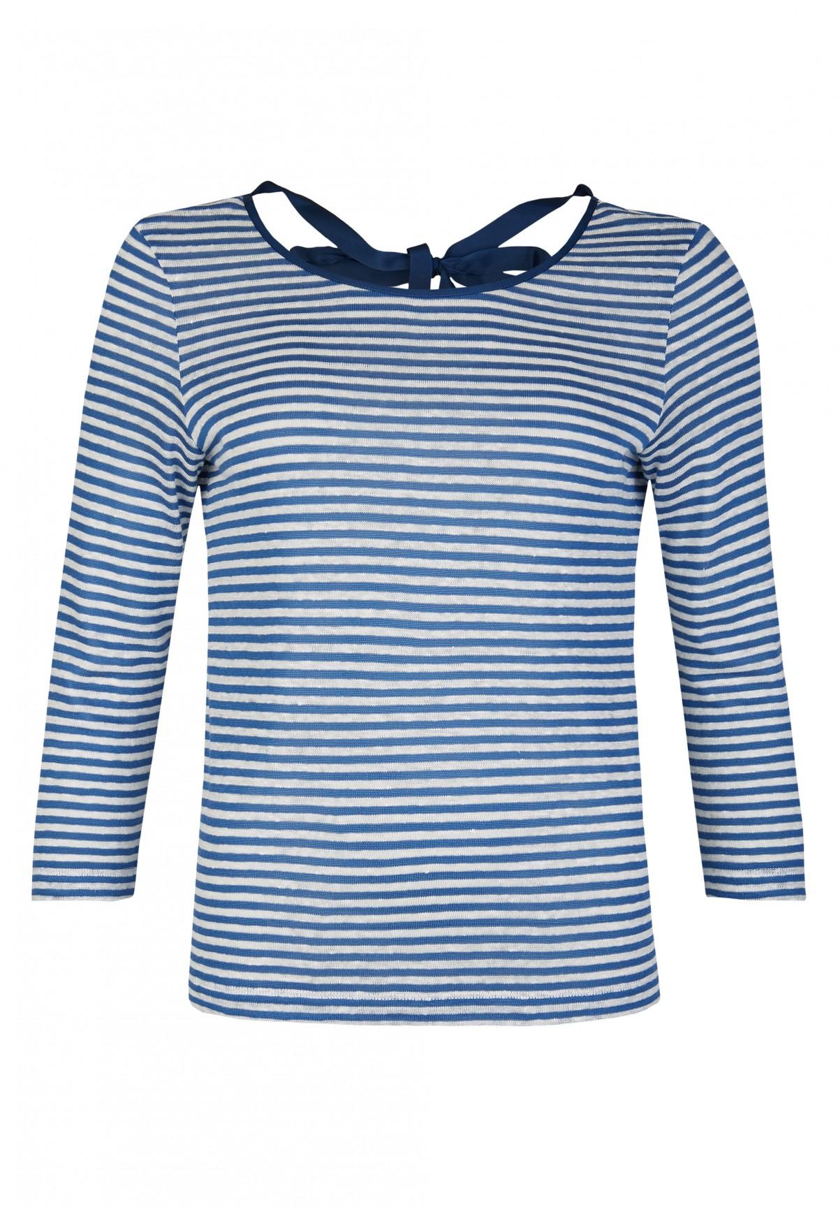 "T-Shirt  à rayures ""marine"" /"