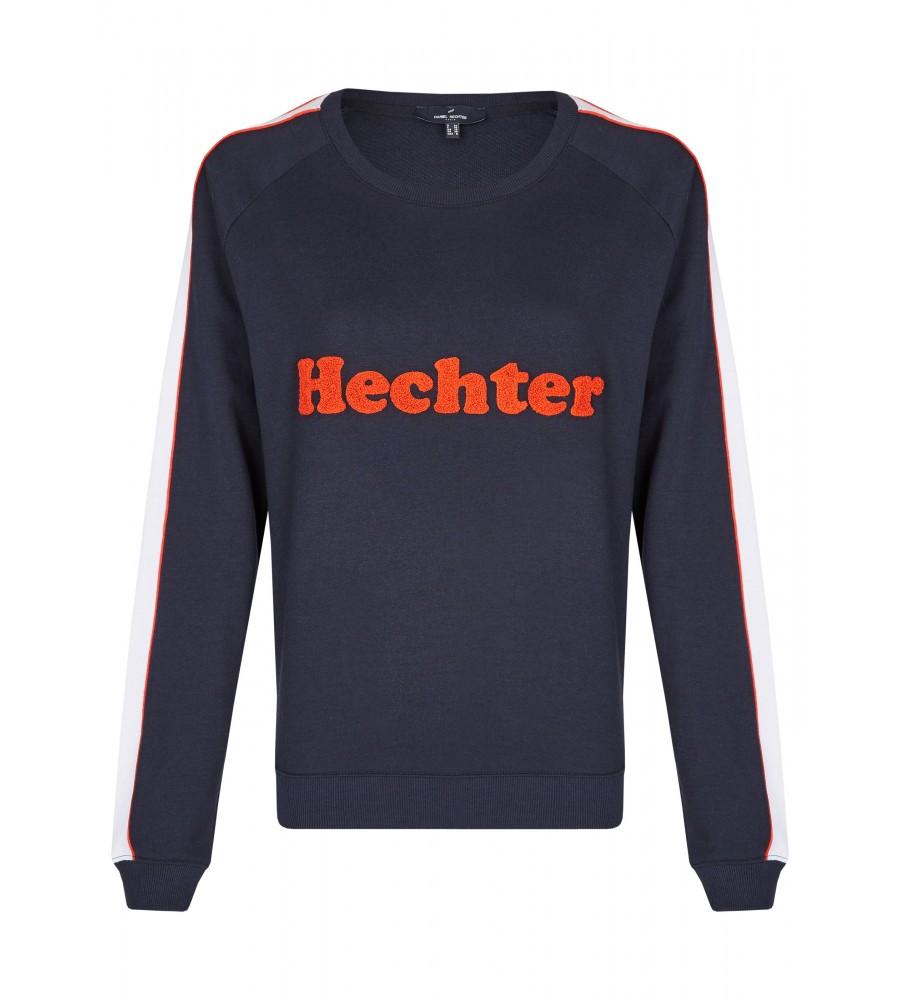 Sportliches Sweatshirt - Der perfekte Tragekomfort, die hochwertige Verarbeitung und die durchdachte Materialzusammenstellung machen dieses Sweatshirt zum Lieblingsteil für die Freizeit. Es kommt in einem sportlichem Look, mit lässigem Schnitt und einem Logo-Print. Kontraststreifen auf dem �rmel und Rippbündchen runden das Design ab.