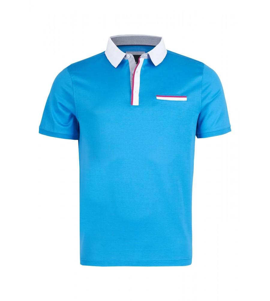 Elegantes Polo-Shirt - Mit diesem klassischen Polo-Shirt von Daniel Hechter ist Ihnen ein stilvoll-eleganter Auftritt sicher. Es lässt sich sowohl zur Jeans als auch unter dem Sakko tragen und besteht aus reiner, doppelt merzerisierter Baumwolle. Das Shirt ist unifarben gestaltet, und wird modisch durch einen Kontrastkragen abgerundet.