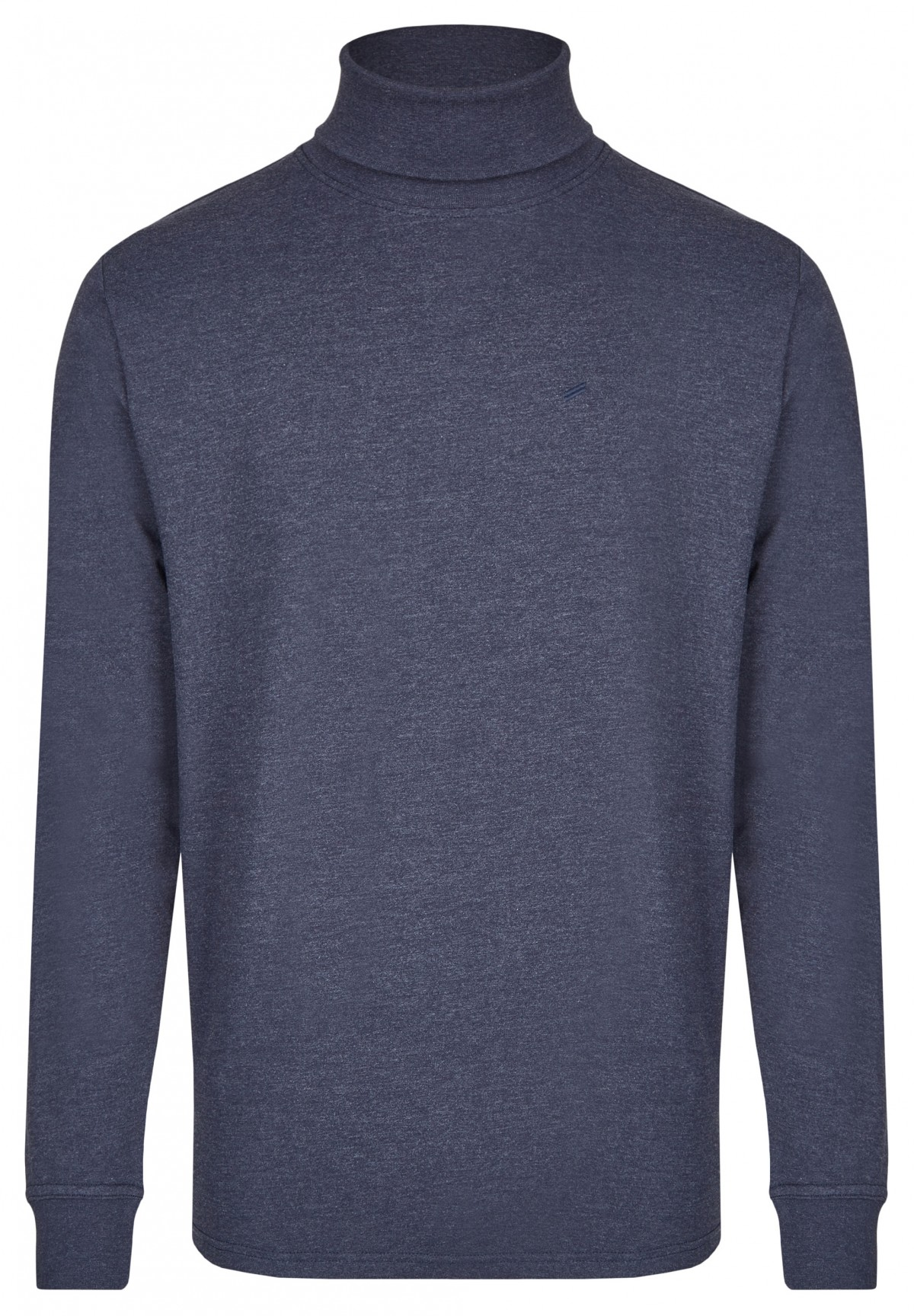 Pull col roulé en jersey /